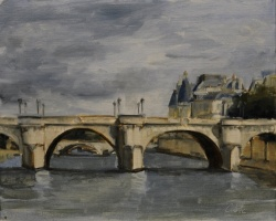 Series, Seine Cloudy Day *SOLD*