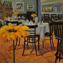 Cafe Sunflower *SOLD*