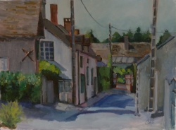 Loire Valley Village*SOLD*