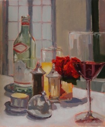 Wine and Roses *SOLD*