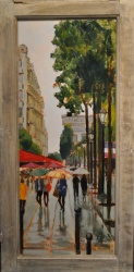 Rainy Day Champs Elysee *SOLD*