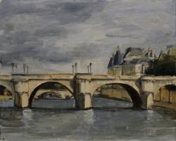 Series, Seine Cloudy Day *SOLD*