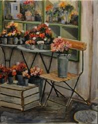 Parisian Flower Shop *SOLD*