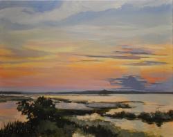 Coastal Islands Sunset *SOLD*